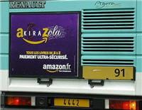 première campagne de publicité d'amazon en 2000.
