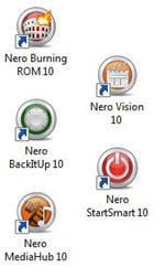 nero crée un peu trop d'icônes sur le bureau
