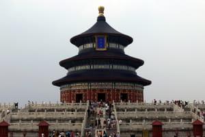 le temple du ciel, à pékin.