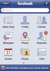 10 millions de mobinautes utilisent l'application facebook en france