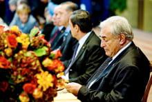 dominique strauss-khan lors du g20 de novembre 2008.