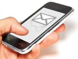 utilisé avec précaution et modération, le sms peut être un bon outil de