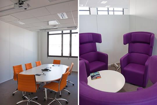 Evergreen : salles de réunion