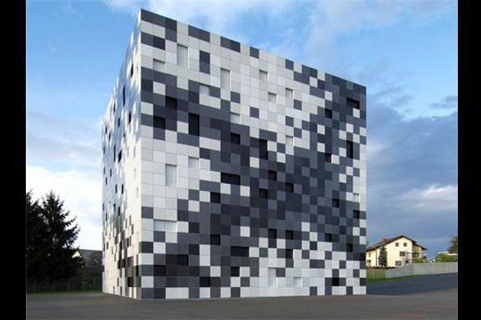 Architecture Pixel Art