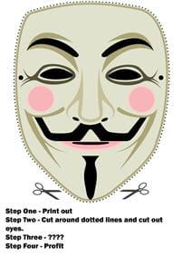 l'outil des anonymous enmanif :ce masque.