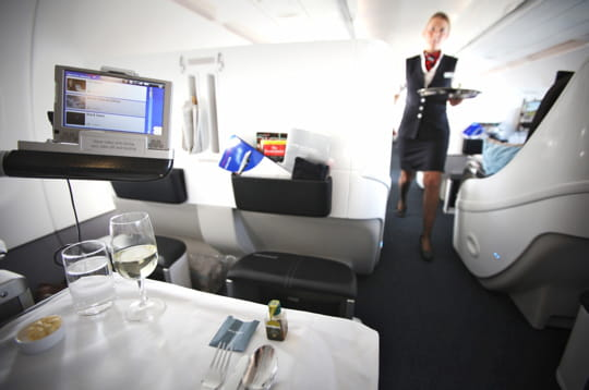 Business class British Airways