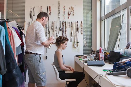 BazarChic : coiffage du modèle