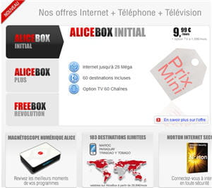 l'offre alicebox initial.