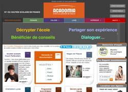 le site d'acadomia