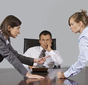 Flirter avec un collègue