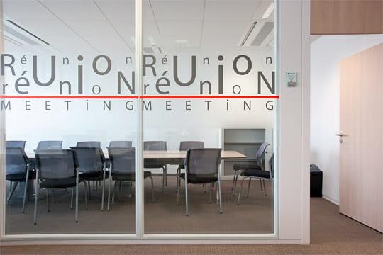 Siège BNP Paribas Cardif : salle de réunion