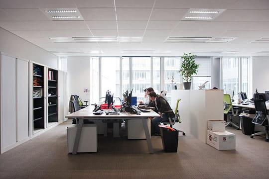 Siège BNP Paribas Cardif : bureaux