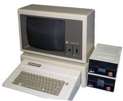 l'apple iie, introduit par apple en janvier 1983