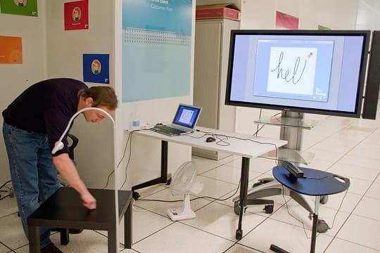 Alcatel-Lucent Bell Labs Open Days : interaction virtuelle avec le réel