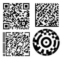 exemples de codes-barres pouvant être intégrés dans des e-mails mobiles