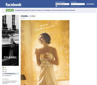 la page fan de chanel sur facebook