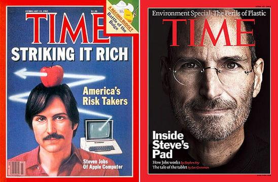 En couverture de Time à 26 ans