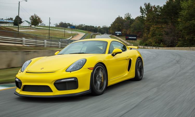 La Porsche Cayman GT4, à partir de 125 000 euros d ...